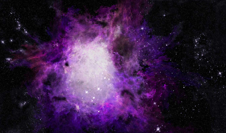 туманность, астрономия, фотошоп, фиолетовый, картинка, картинку,