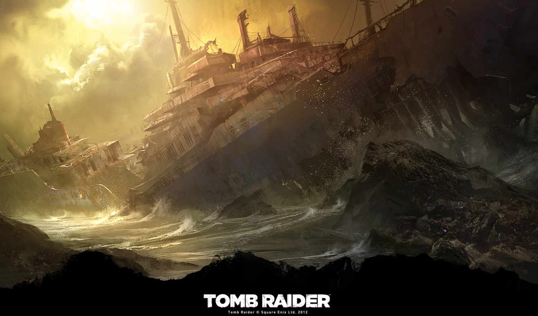 tomb, raider, born, survivor, games,