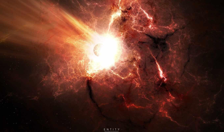 взрыв, раскаленный, impact, газ, звезды, вспышка, катстрофа,