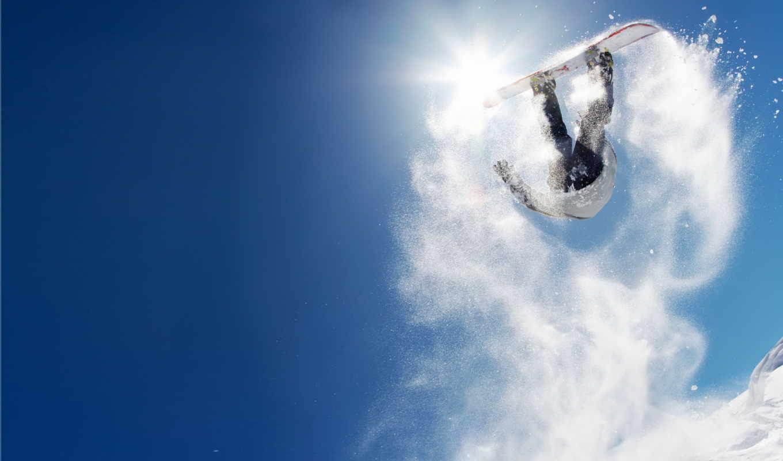 сноуборд, снег, snow, snowboarding, snowboard, trick, sky, прыжок, горы, код, зима, солнце, спорт,