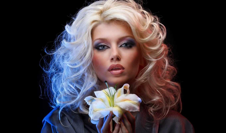 девушка, цветок, портрет, освещение, девушки, красивая, progressive, картинка, music, iphone, фотографии,
