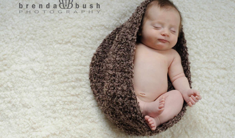pulpit, детей, niemowle, czapka, śpiące,