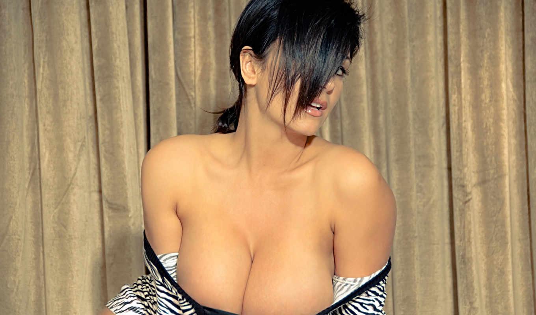 denise, milani, prsia, veľké, мб, платье, zebra, взгляд, волосы,