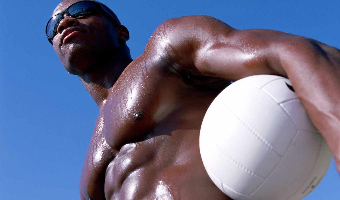 man, beach, black, hot, men, male,