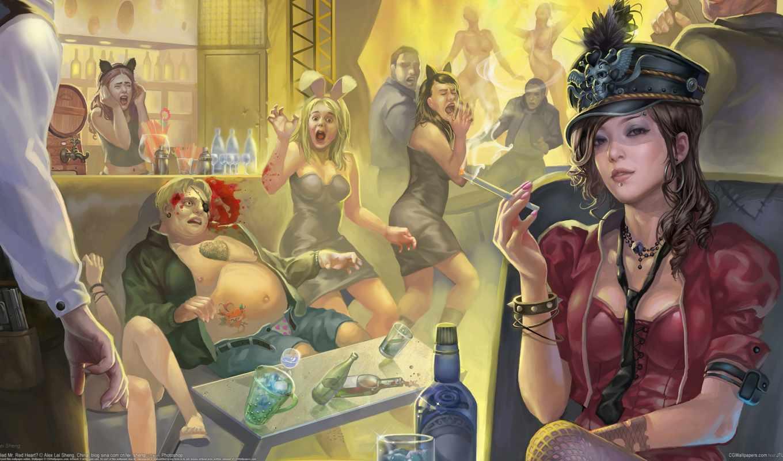 девушка, выпивка, сигарета, убийство, бар,