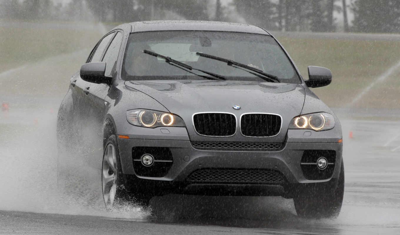 bmw, брызги, авто, лужа, предпросмотром, качественные, water,
