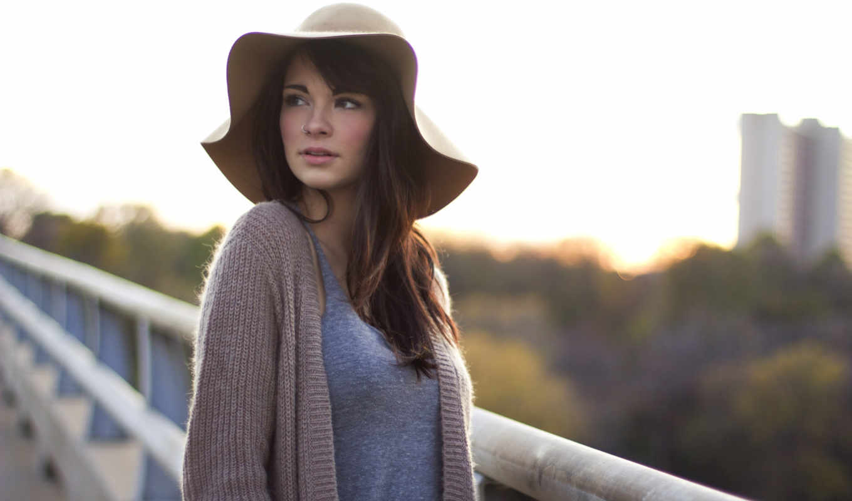 devushki, девушка, красивые, шляпе,
