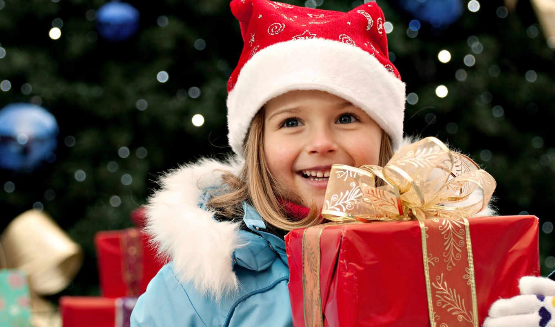 улыбка, новый, год, подарок, desktop, праздник, красная, дети, девочка, куртка, лента, перчатки, картинку, коробка, голубая, бант, золотая, шапочка, christmas, кнопкой, картинка, мыши, правой,