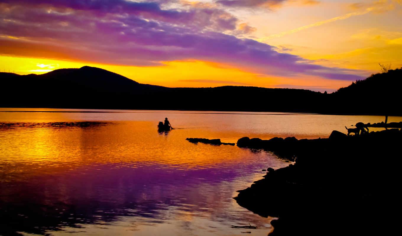 resimleri, pack, закат, super, природа, whitingham, лилово, картинка, всем, смотреть, оранжевый, monitor,