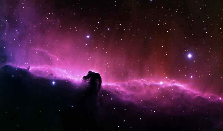туманность, звезды, конская, голова, space, смотрите, desktop, horsehead, elena, free, сияние, you, звездное, вселенная, единорога, horse, can,