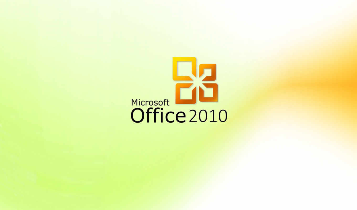 office, microsoft, 2010, yellow, white