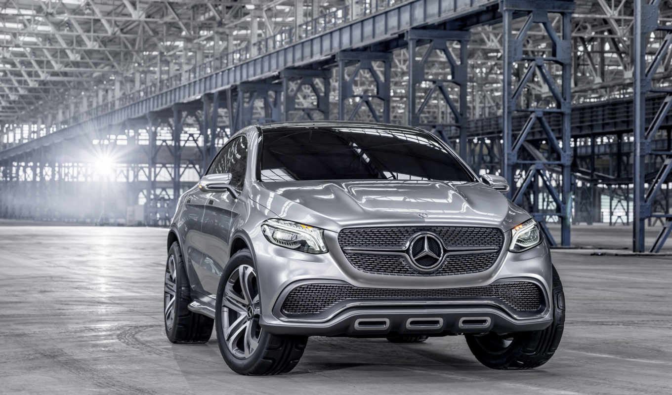 mercedes, benz, suv, concept, coupe, new, beijing,