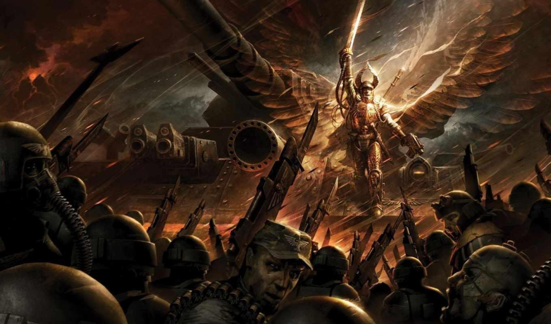 warhammer, рассвет, war, emperor, retribution,