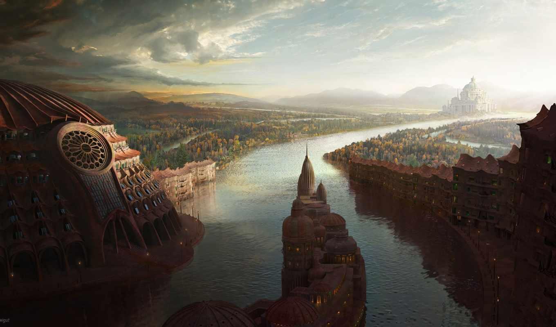 город, старинный, лес, река, запросу, результатов, города, наши,