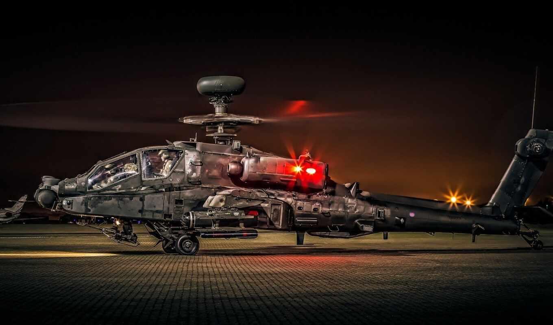 apache, ah, boe, вертолет