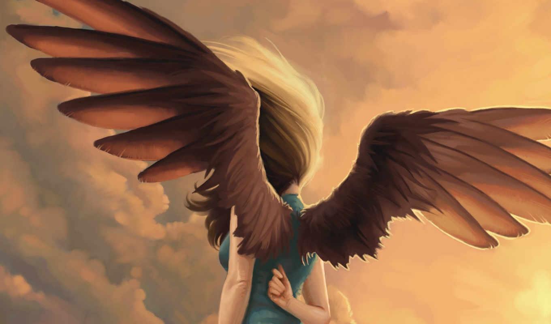 photoshop, повелители, часть, perry, kelly, крылья, ангел, фэнтези, девушка, еще, но, faery,