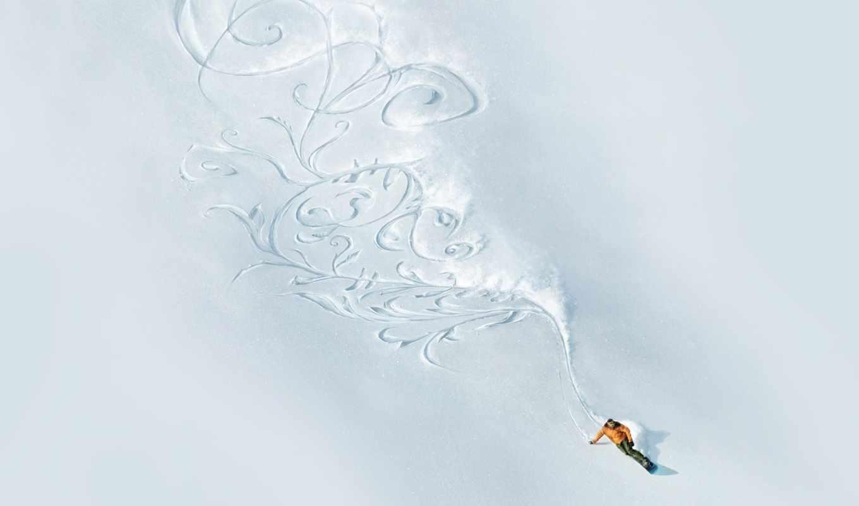сноуборд, snow, фрирайд, pattern,