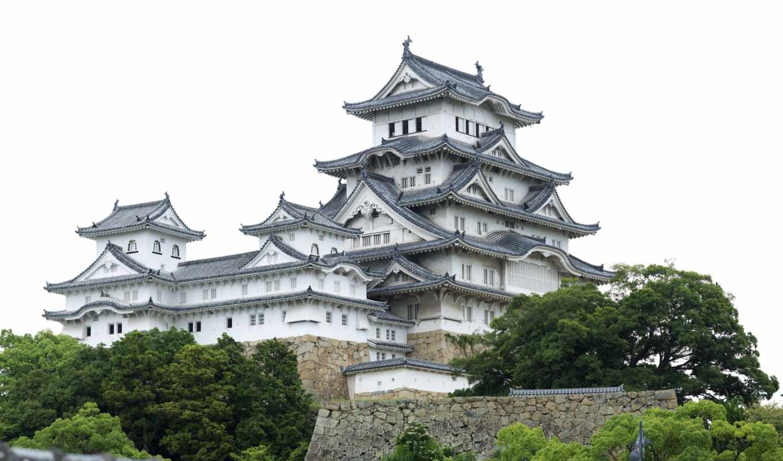 замок, химэдзи, япония, японии, замков, белой, цапли,