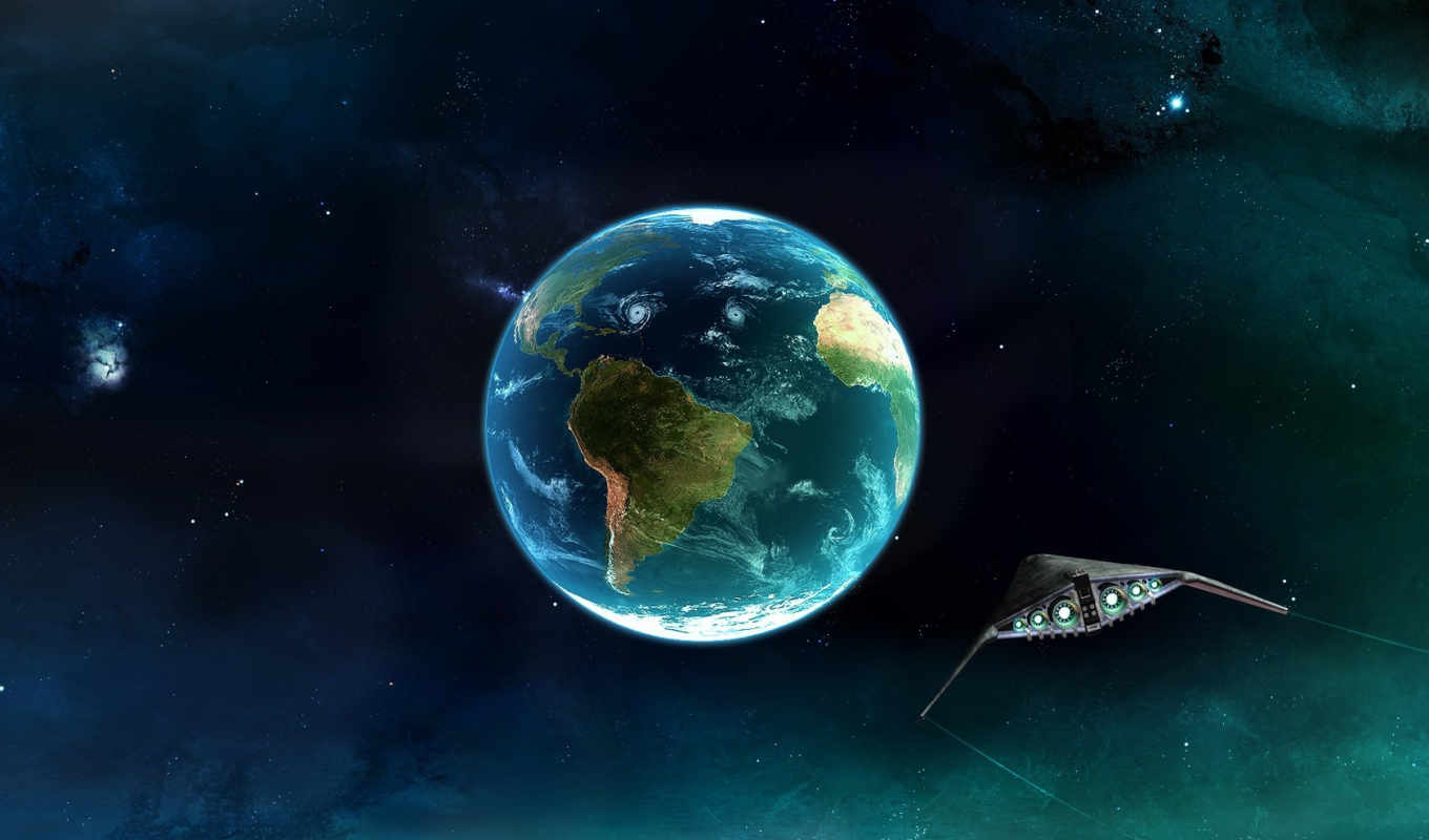earth, space, ship, original, download, tagged, piels, планета,