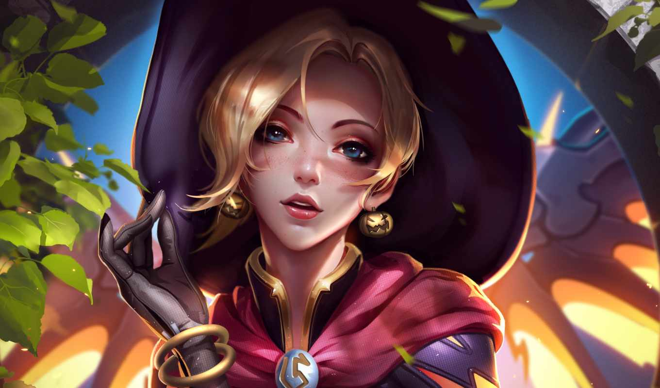 overwatch, mercy, artwork, free, мойра,