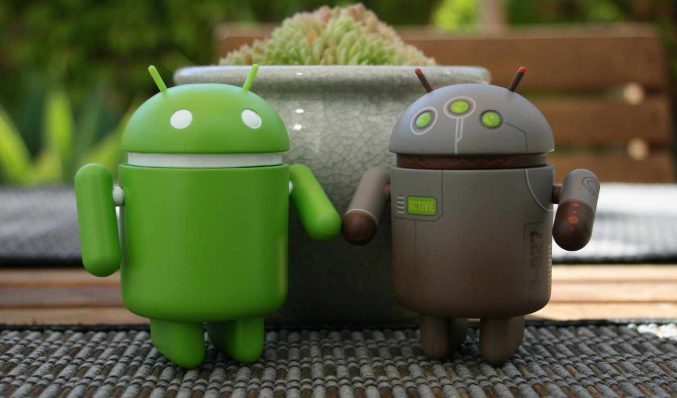 android, logo, toys