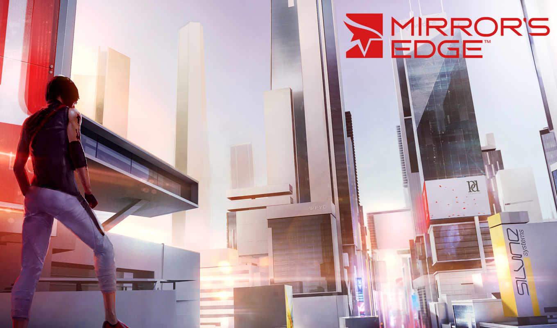 edge, зеркало, catalyst, mirrors, arts, electronic, art, игры,