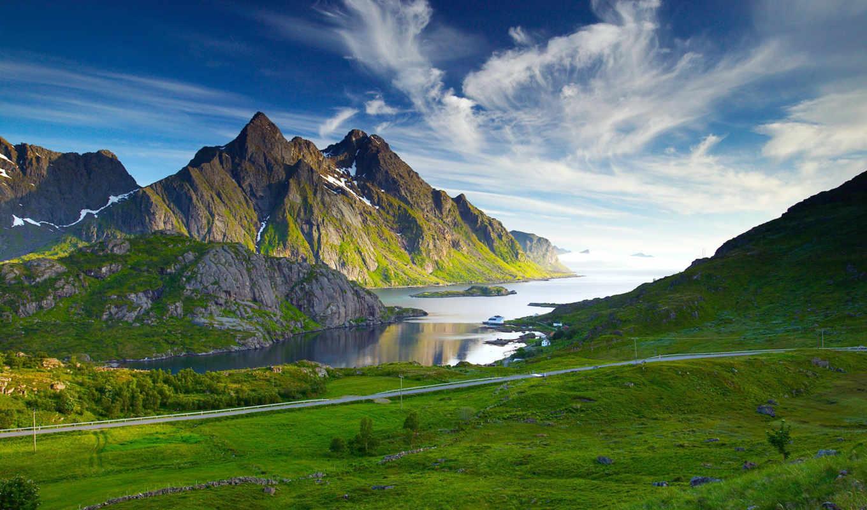 канада, landscape, landscapes, гора, best, фон, desktop,
