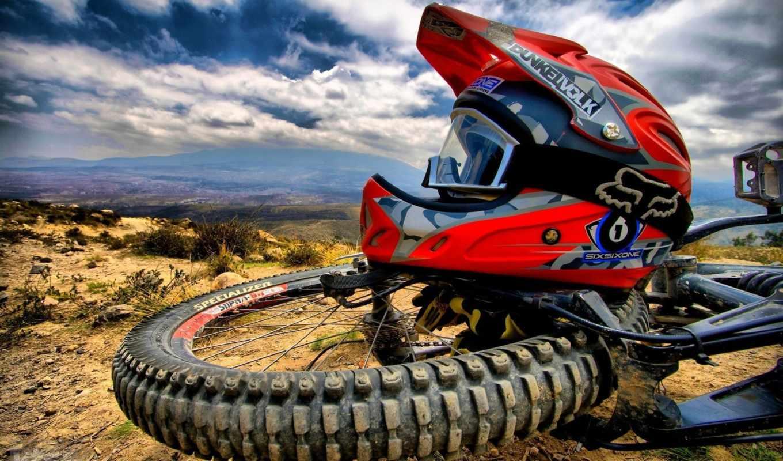 шлем, колесо, велосипед, небо, спорт, apparel, motocross, езда, мотоаукционы,