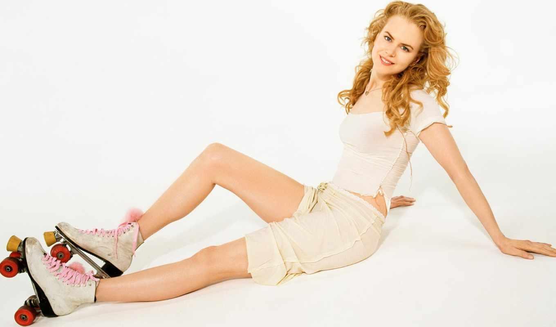 roller, год, июня, nicole, красивая, kidman, актриса, skates, женщина,