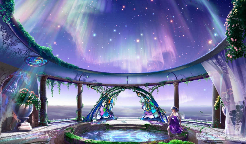 celestial, exploring, часть, kagaya, здесь, fantasy, starry, palace, yutaka, into, back, tales,