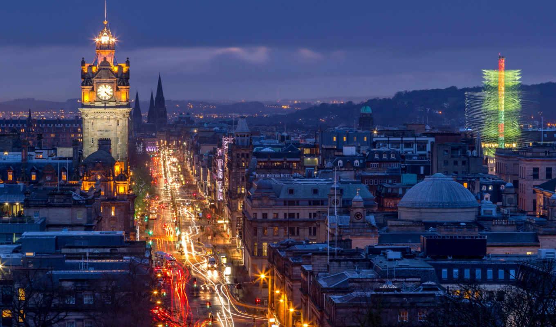 эдинбург, сайте, windows, нашем, tapety, заставки, дорога,