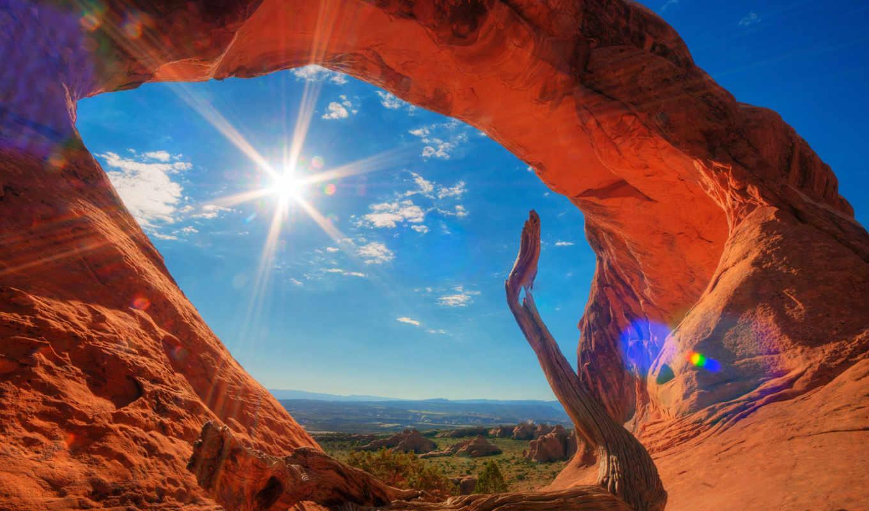 summer, природа, park, utah, usa, national, пустыня,