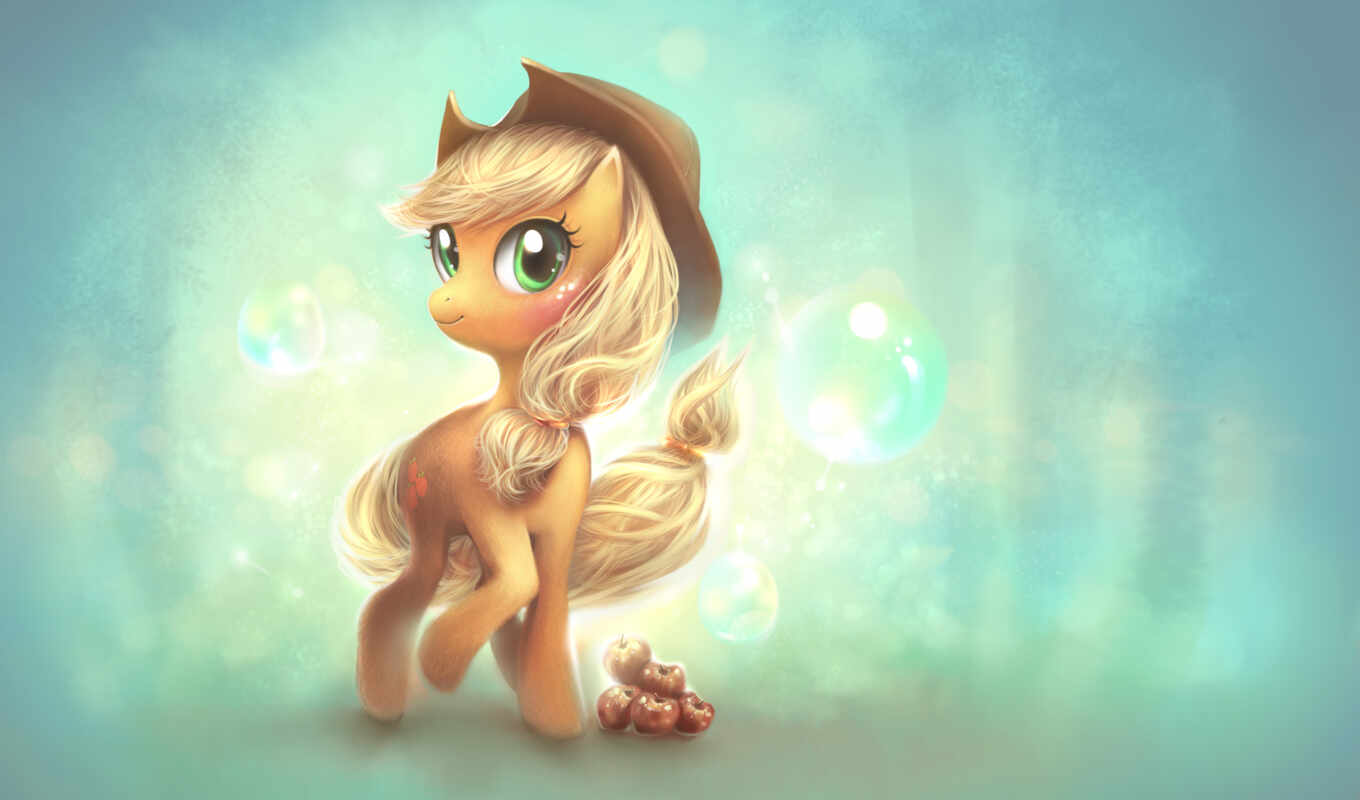 пони, applejack, little, bacon, pinterest, cute,