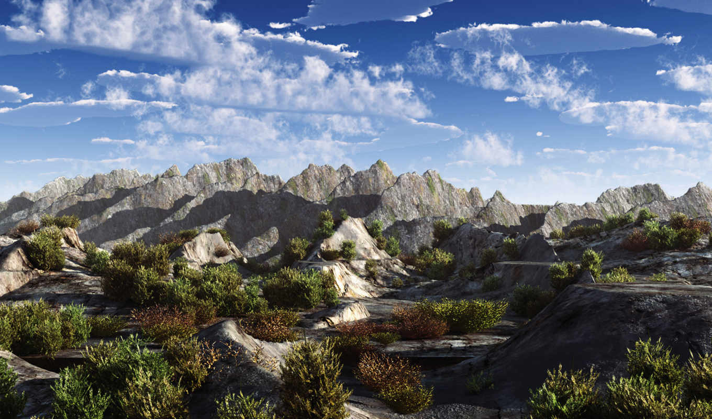 небо, горы, панорама, земля, картинка, картинку, amazing, earth,