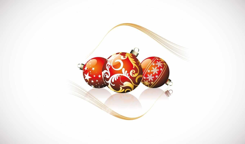 christmas, glass, balls,