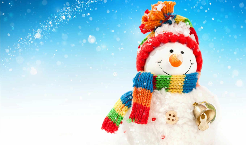 christmas, new, снеговик, год, снег, новогодние, winter,
