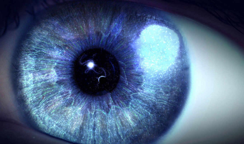 glaza, магия, звездное, небо, коллекция, глаз,