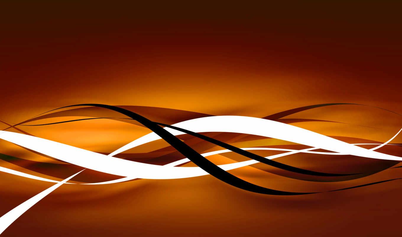 абстракция, линии, абстракции, картины,
