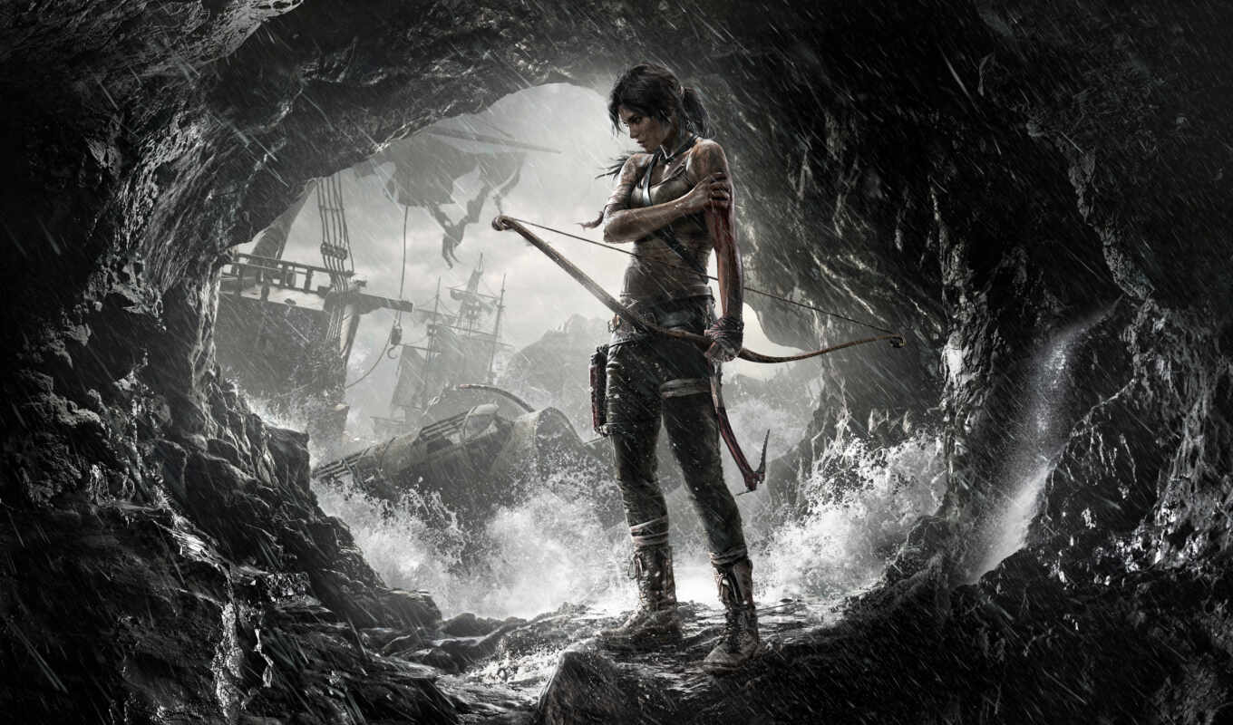 tomb, raider, game, лара, игры, croft,