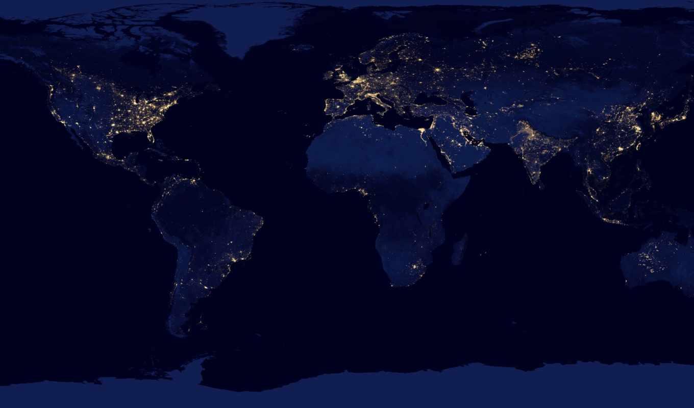 nasa, space, карта, земля, континеты, планета, ночь, огни, per, messagesight, download, ibm, alitalia,