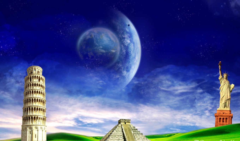 природа, dreamy, world, fantasy, стиле, часть, альбоме, мар, картинок,