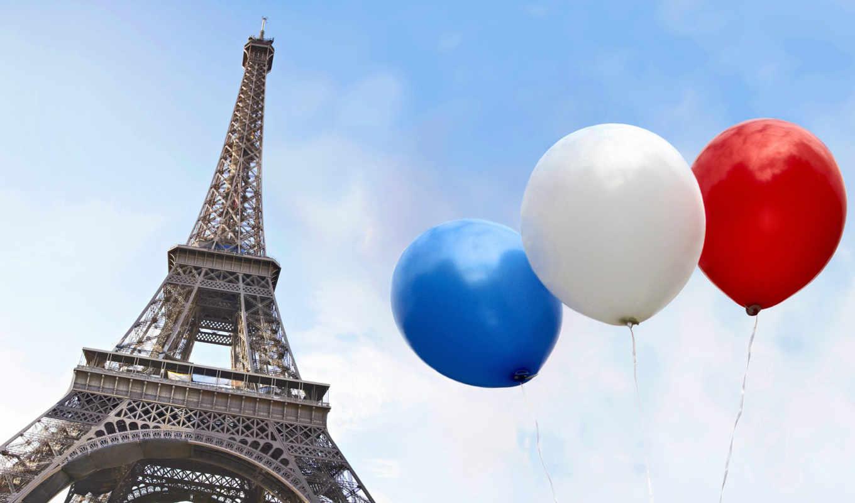 шарики, разноцветные, fone, разных, воздушные,