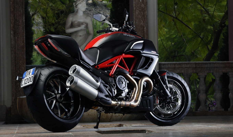 ducati, diavel, мотоцикл,