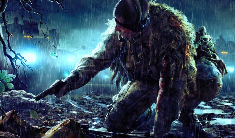 снайпер, ghost, воин, марта, игры, game,