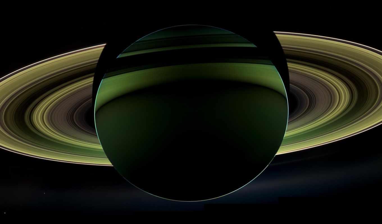 сатурн, cassini, planet, cosmic,