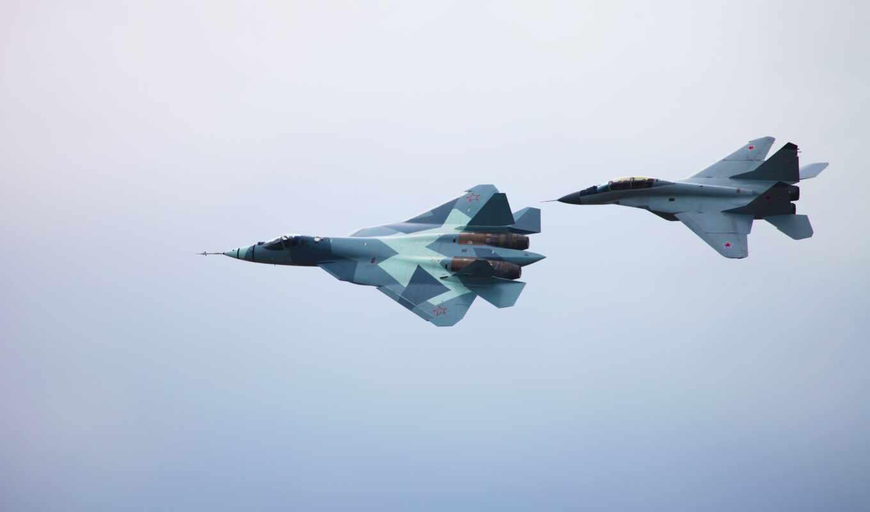 самолет, mig, истребитель, россия, авиация, oruzhie, сухой, vvs, военный, су, боевой