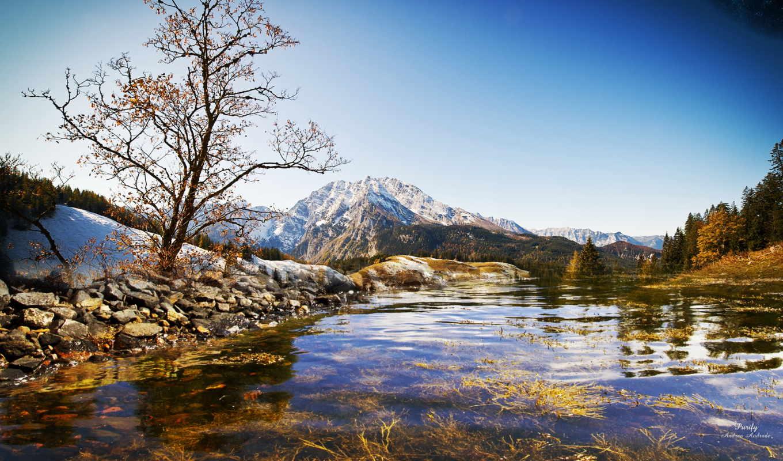 альпы, места, bottom, весна, красивые, самые, абсолютно, голубое, свежесть, нов,