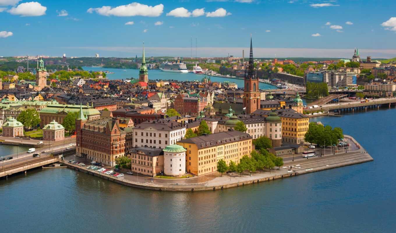 stockholm, rook, стан, gamla, sweden, город, тв, camp, старый, riddarholmen, church