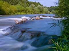 reki, waters, спокойные