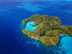 остров, острова, сверху